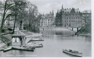 Fotografia Domu Generalnego we Wrocławiu, lata 30-te dwudziestego wieku