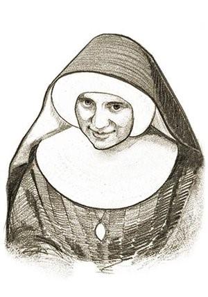 portret Siostry Sapientii Heymann