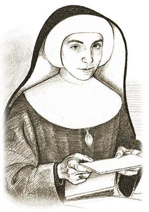 Portret Siostry Felicitas Ellmerer