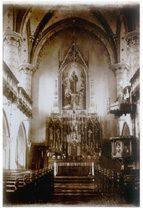 Fotografia kaplicy świętego Józefa z 1892 roku