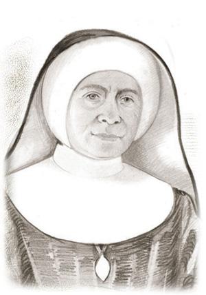 portret Siostry Maria Acutiny Goldberg