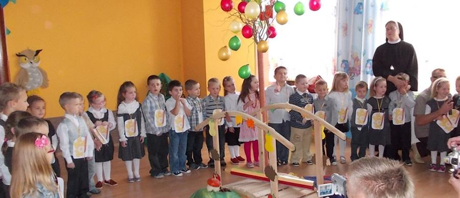 uroczystość w przedszkolu