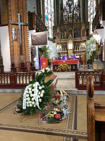 Pogrzeb Henryki Kamińskiej